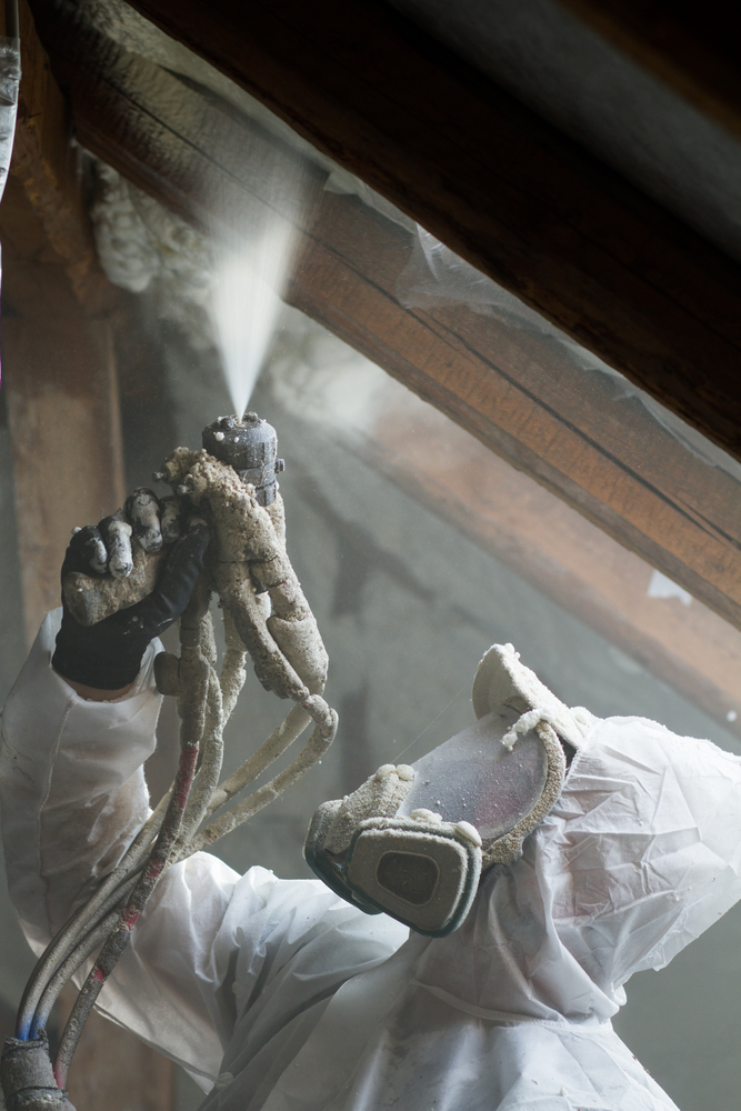 spray foam insulation in Erie